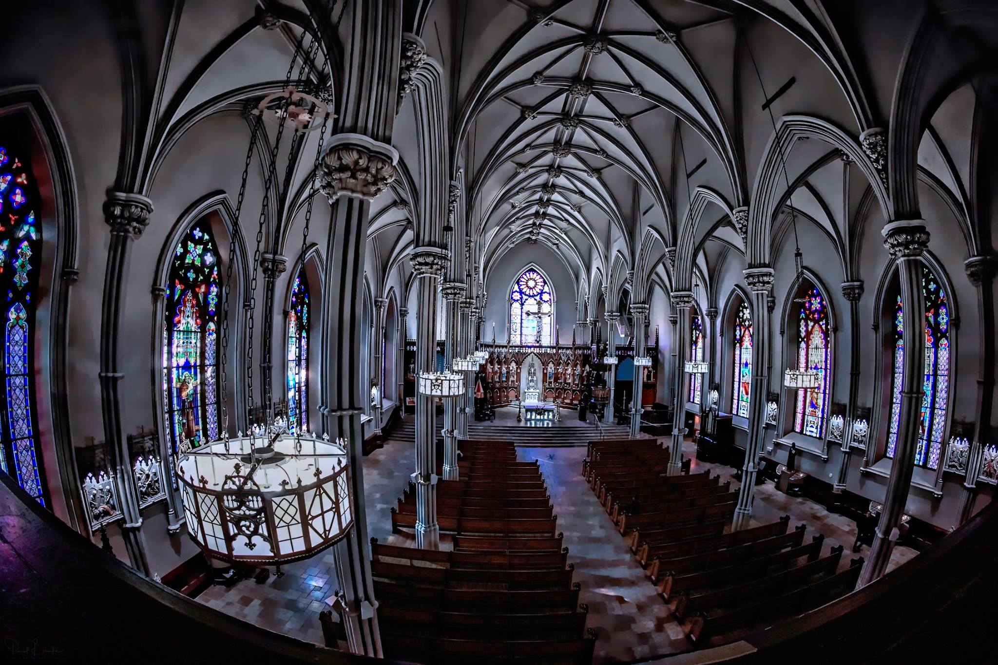 Basilica of St. Patrick's Old Cathedral Nave and Sanctuary