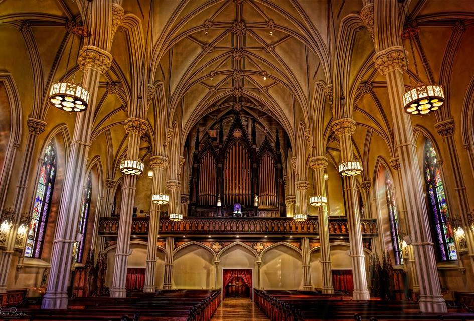 Basilica Nave and Organ